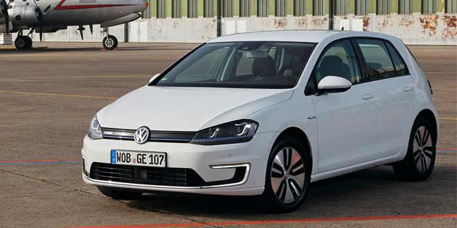 В Европе стартуют продажи Volkswagen e-Golf