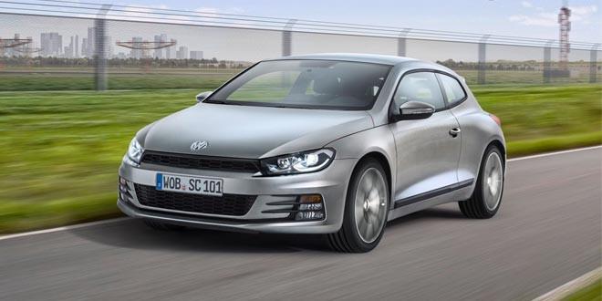Рестайлинговый Volkswagen Scirocco готов к презентации в Женеве