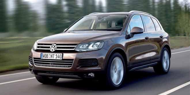 Volkswagen Touareg вышел в спецверсии для Украины