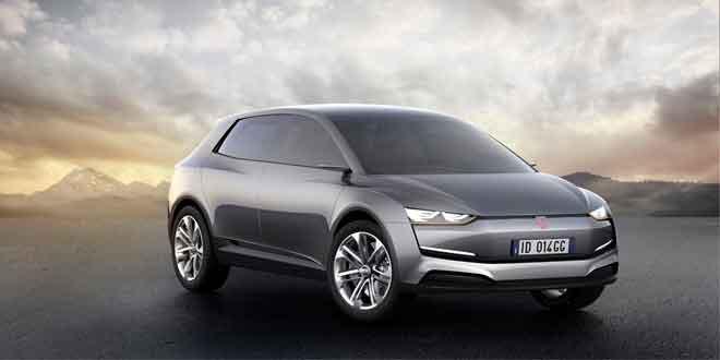 На французском автошоу дебютировал четырехкрылый электрокар ItalDesign Giugiaro Clipper