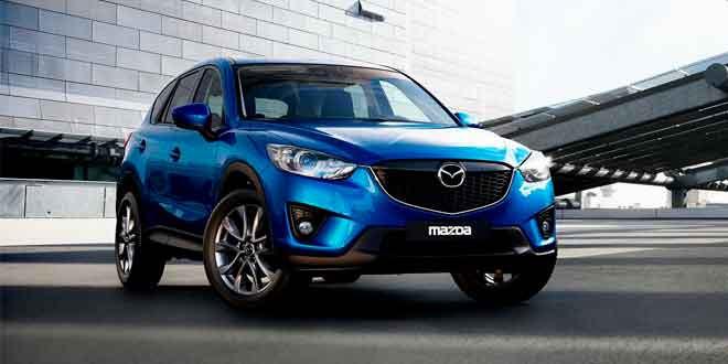 Украинский поставщик озвучил цены на дизельную версию кроссовера Mazda CX-5