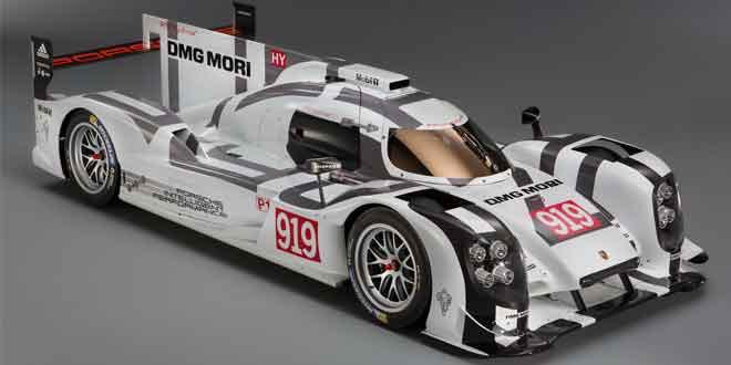 Супергибрид 919 вернет марку Porsche в Ле-Ман