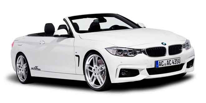 BMW 4-Series Convertible с доработками от AC Schnitzer