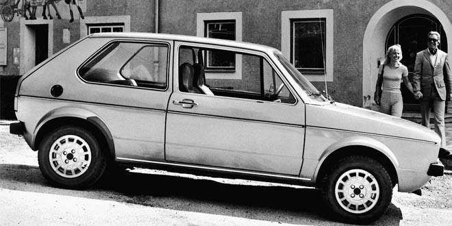 Volkswagen Golf празднует 40-летний юбилей