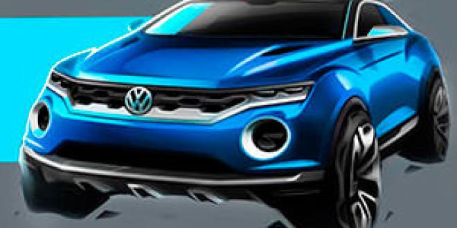Volkswagen готовится пополнить семейство кроссоверов ещё одной моделью