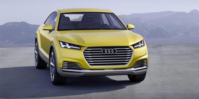 Audi построила на базе нового поколения TT внедорожное купе
