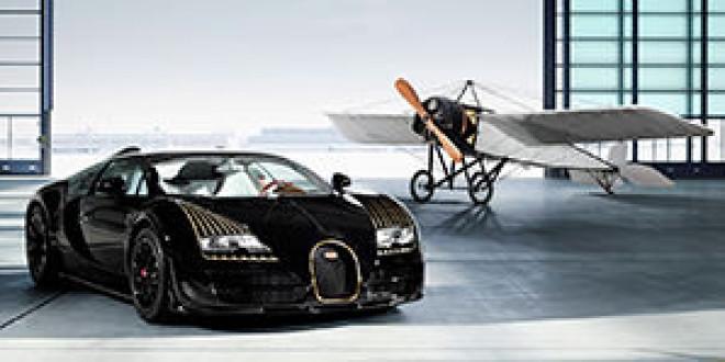Серия Legends компании Bugatti дополнилась гиперкаром Veyron Grand Sport Vitesse Black Bess