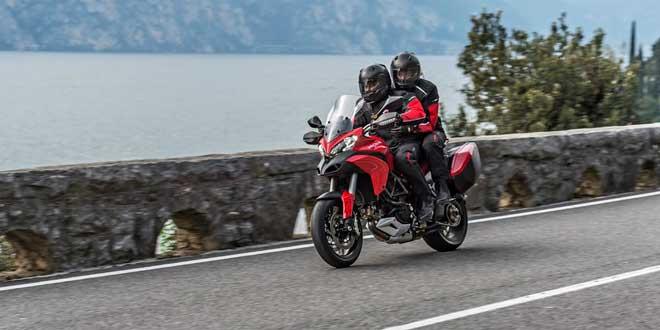 Официально представлен Ducati Multistrada 1200 S Touring D-Air 2015 модельного года