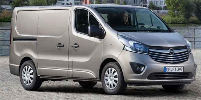 На рынок выходит второе поколение Opel Vivaro