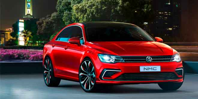 Официально представлен Volkswagen New Midsize Coupe