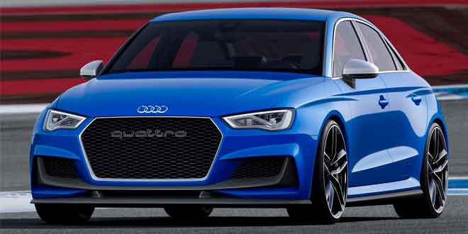 Audi везёт на тюнинг-фестиваль Wörthersee концепт A3 Clubsport quattro