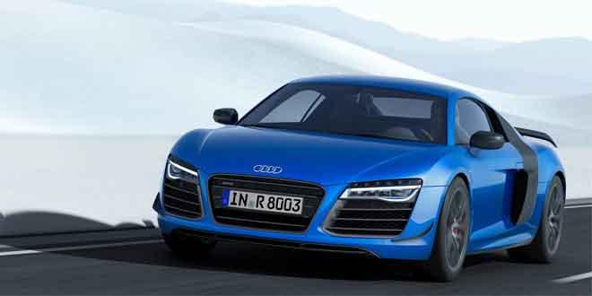 Первым серийным автомобилем с лазерными фарами стал суперкар Audi R8 LMX