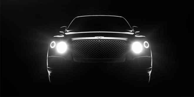 Компания Bentley представила видеотизер первого кроссовера