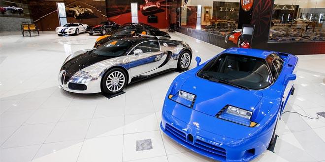 Эксклюзив: гараж мечты существует и находится в ОАЭ