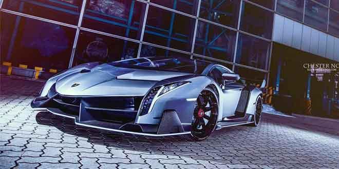 Lamborghini Veneno прибыл в Гонконг