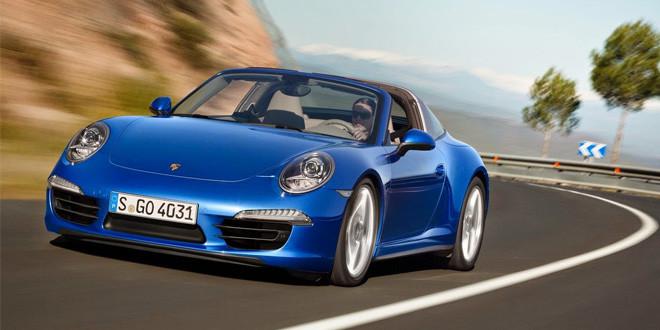 Тест-драйв Porsche 911 Targa