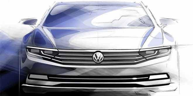 Volkswagen показал как будет выглядеть следующее поколение «Пассата»