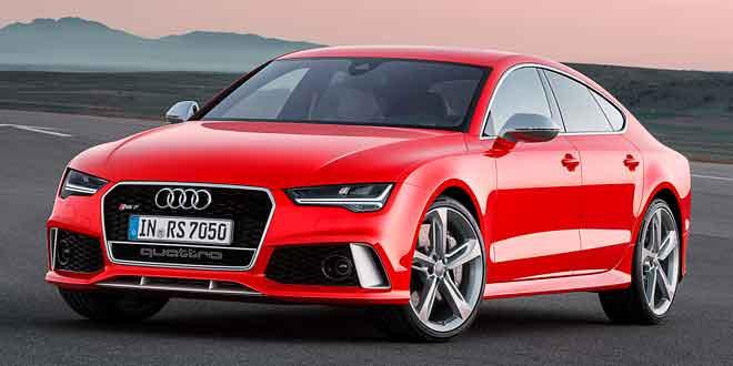 Компания Audi представила рестайлинговый вариант четырёхдверного купе RS7