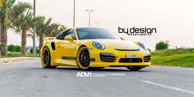Саудовский тюнер ByDesign Motorsport подготовил стайлинг для Porsche 911 Turbo S