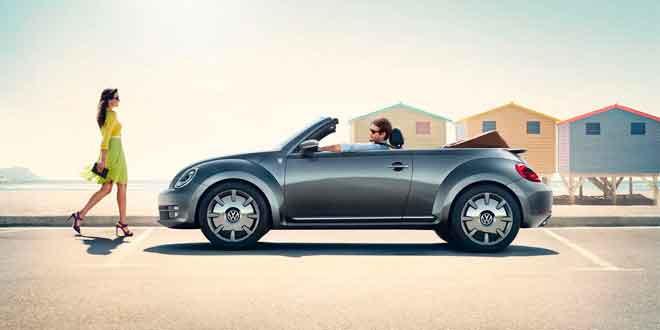 Volkswagen выпустил шикарный кабриолет Beetle Karmann