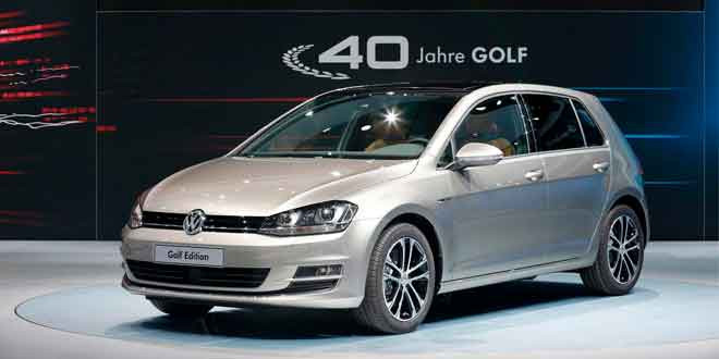 Volkswagen празднует 40-летие Golf спецсерией