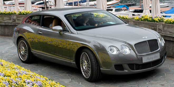 Bentley начнёт собирать индивидуальные кузова