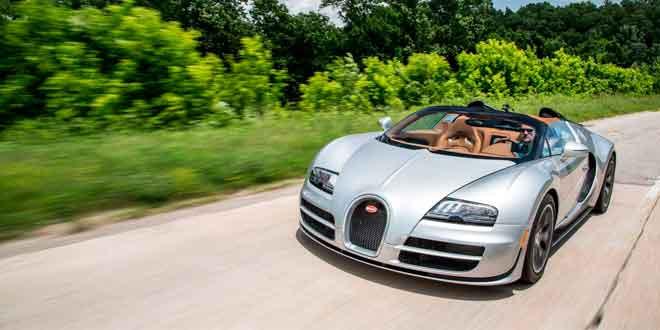 Bugatti Veyron Grand Sport Vitesse проехал по легендарному Шоссе 66