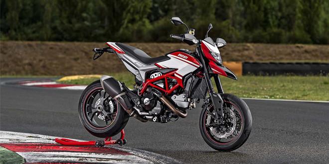Официально представлен новый Ducati Hypermotard SP