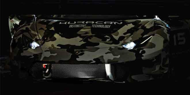 Lamborghini показывает гоночный Huracan частями