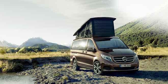 Список модификаций Mercedes-Benz V-Class пополнился домом на колёсах Marco Polo