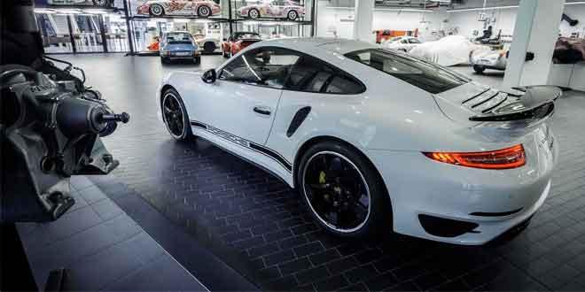 Вышла ограниченная серия Porsche 911 Turbo S GB Edition