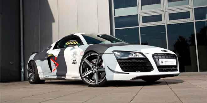 Компания mbDESIGN подготовила комплексный тюнинг для Audi R8 V8