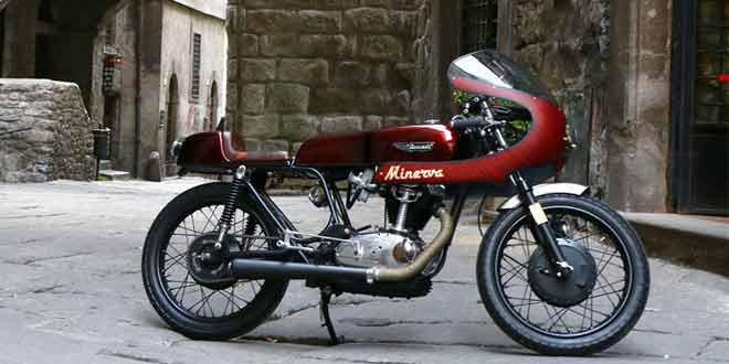 Винтажный байк Ducati Minerva