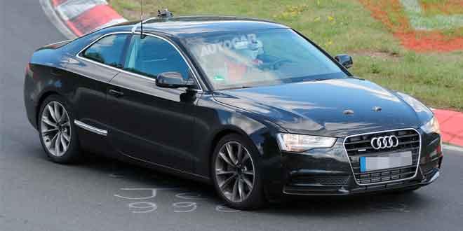 Audi тестирует новое поколение A5 Coupe