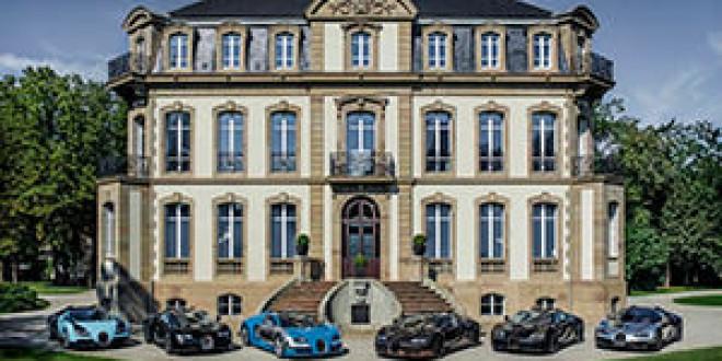 Легенды Bugatti собрались в одном месте