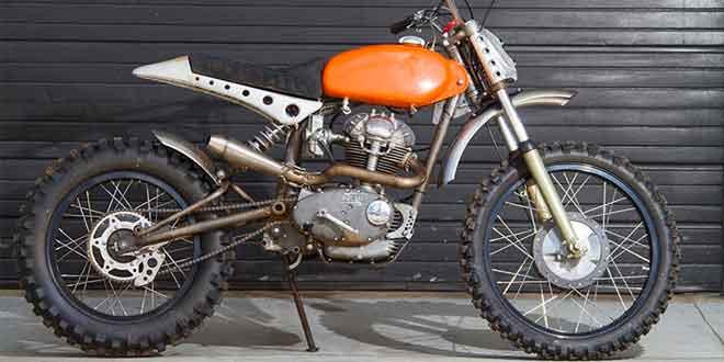 Авторский кастом Ducati Scrambler