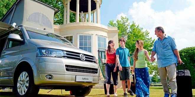 Открылся отель с «номерами» из минивэнов Volkswagen California