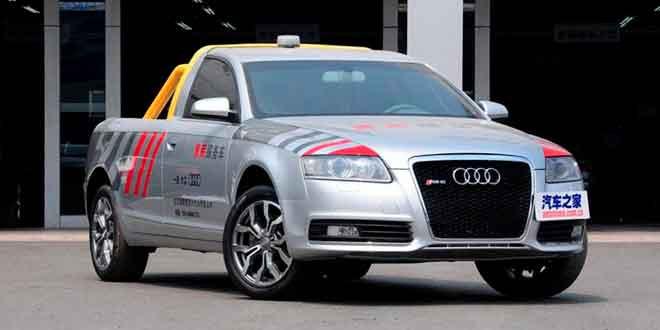 Китайцы построили пикап на базе Audi A6