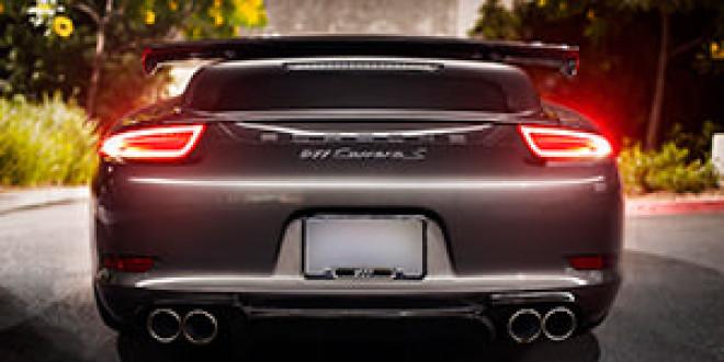 Porsche 991 Carrera S примерил диффузор Vorsteiner