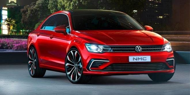 Volkswagen New Midsize Coupe рассекретили в Сети