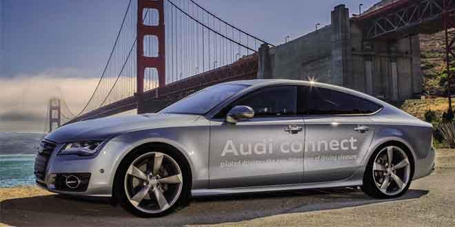 Audi первой разрешили без ограничений тестировать автомобили с автопилотами в Калифорнии