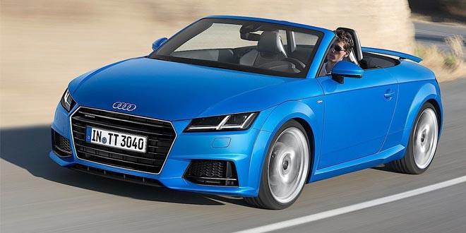 Audi расскеретила родстеры TT и TTS