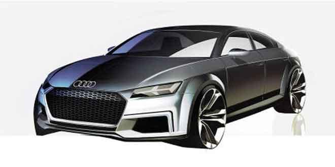 Купе Audi TT легло в основу четырёхдверного концепта
