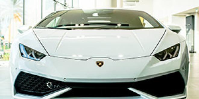 Фотоотчет: в гостях у дилера Lamborghini в Абу-Даби