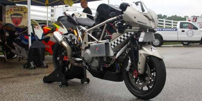 Авторский мото-тюнинг Ducati 848
