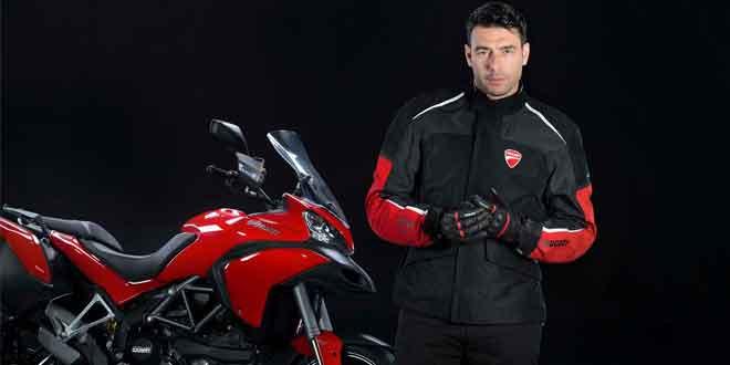 Ducati и Audi протестировали подушку безопасности мотоциклиста