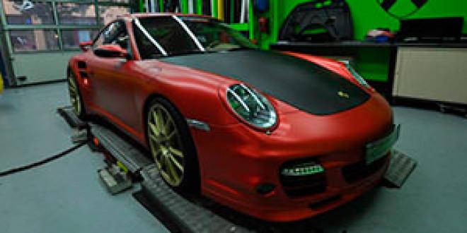 Ателье Print Tech создало из Porsche 911 Turbo гиперкупе