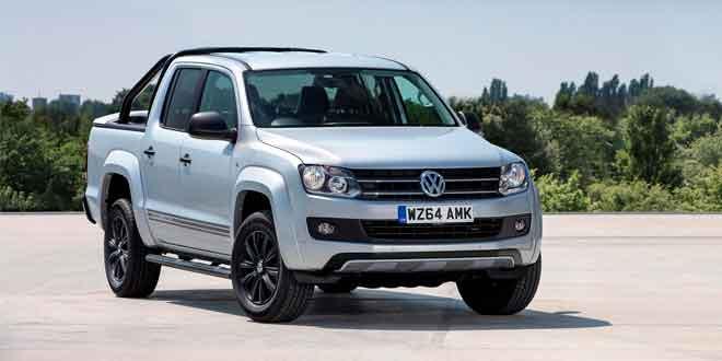 В Британии выходит ограниченная серия пикапа Volkswagen Amarok