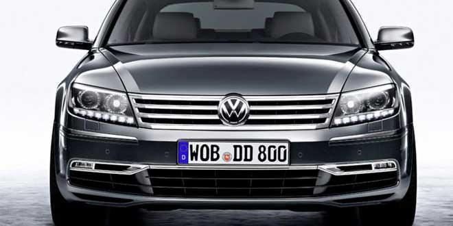 Volkswagen работает над новым поколением Phaeton