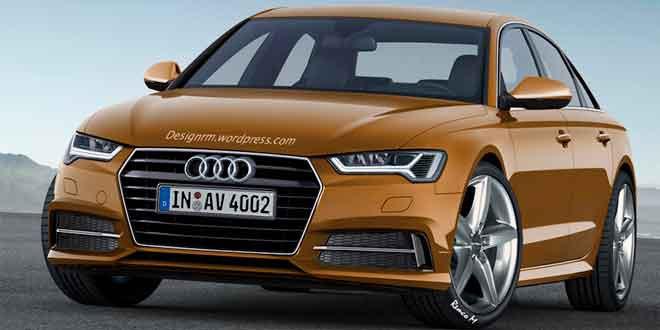 Визуализация следующей Audi A4